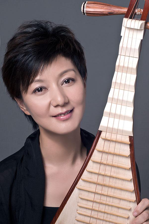 上海乐器展之琵琶讲坛 章红艳